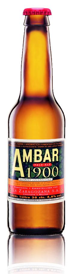 Botella Ambar 1900