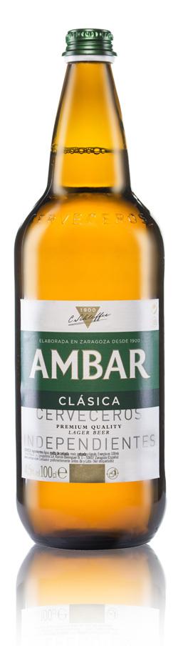 Botella Ambar Clásica
