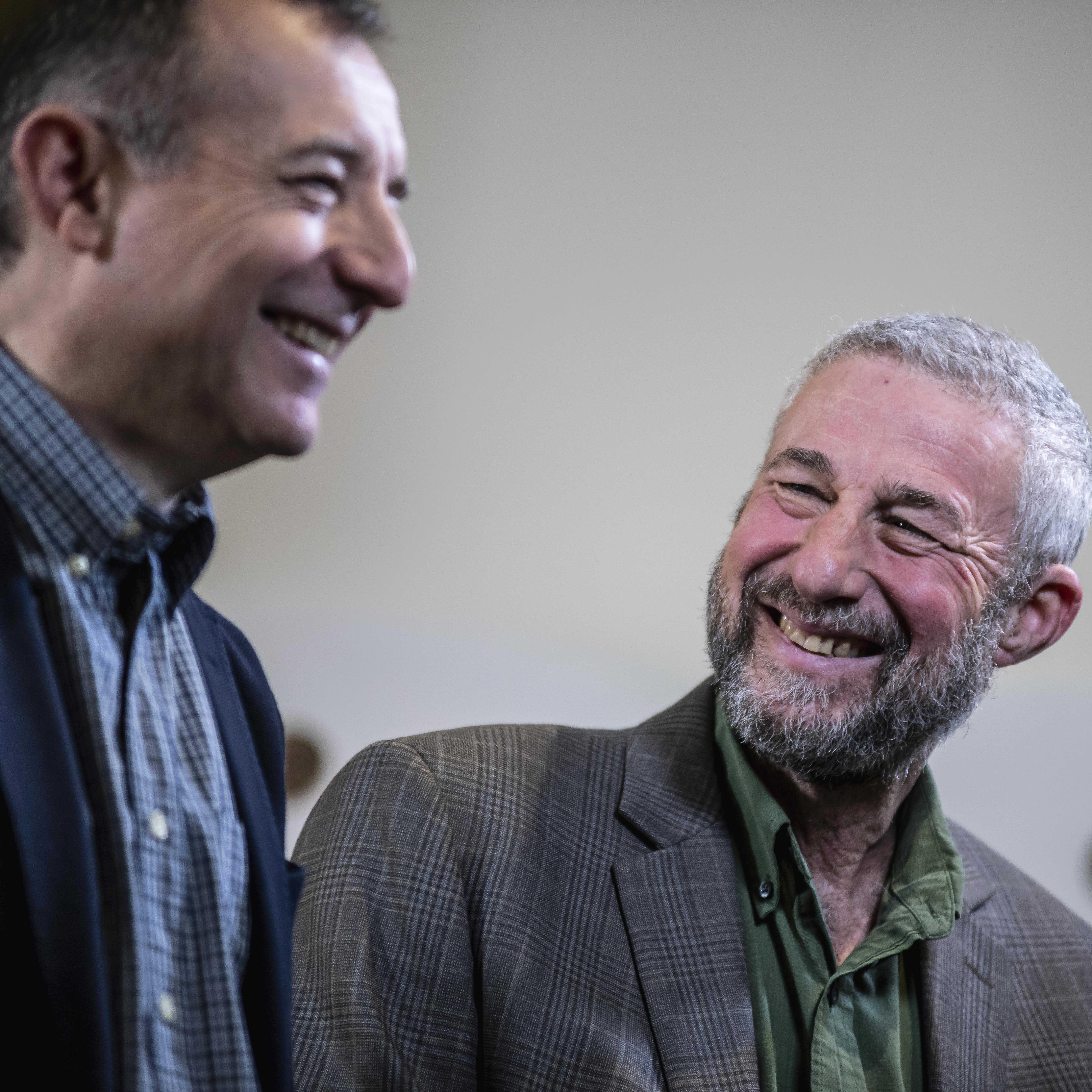 Encuentros cerveceros entre Ken Grossman y Antonio Fumanal