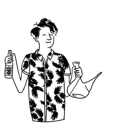 Consejos para beber en porron con arte