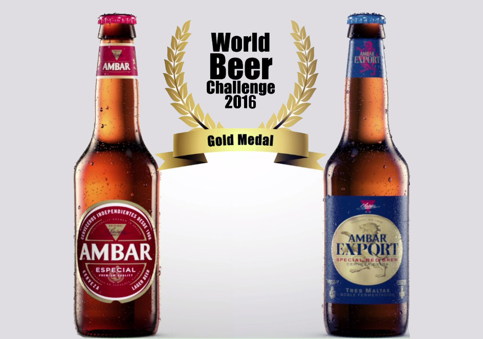 ¡Ambar entre las mejores cervezas del mundo!