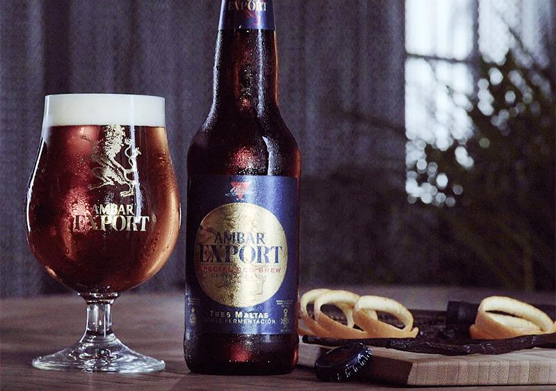 Cocteles cerveceros con Ambar Export
