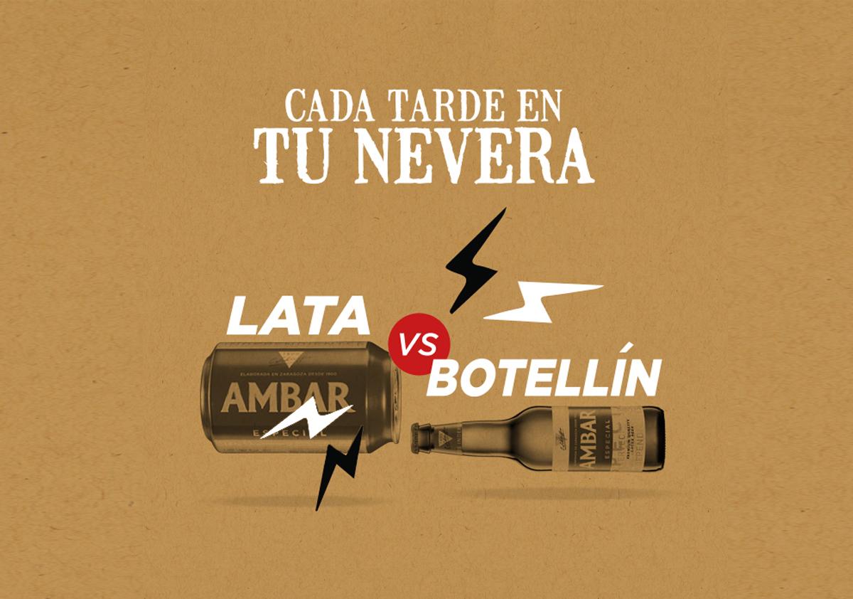 Lata versus Botellín