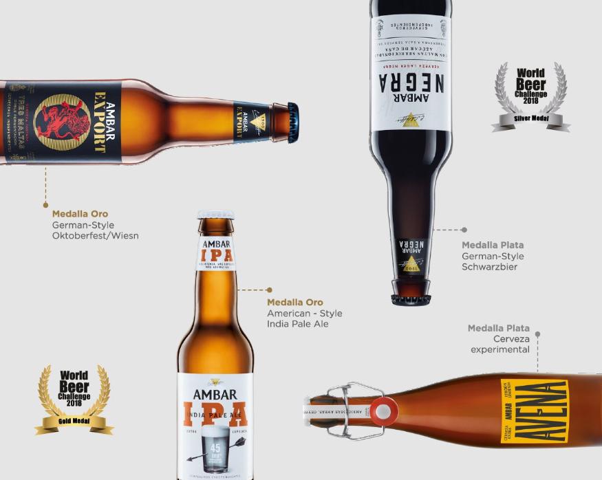 Maedalla de oro world beer challenge