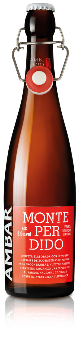Botella Ambar Monte Perdido